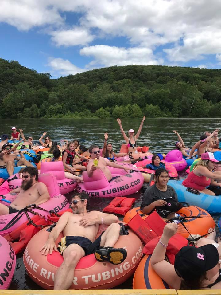 Tubing for groups